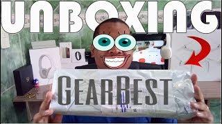 Unboxing de Produtos importados da GearBest