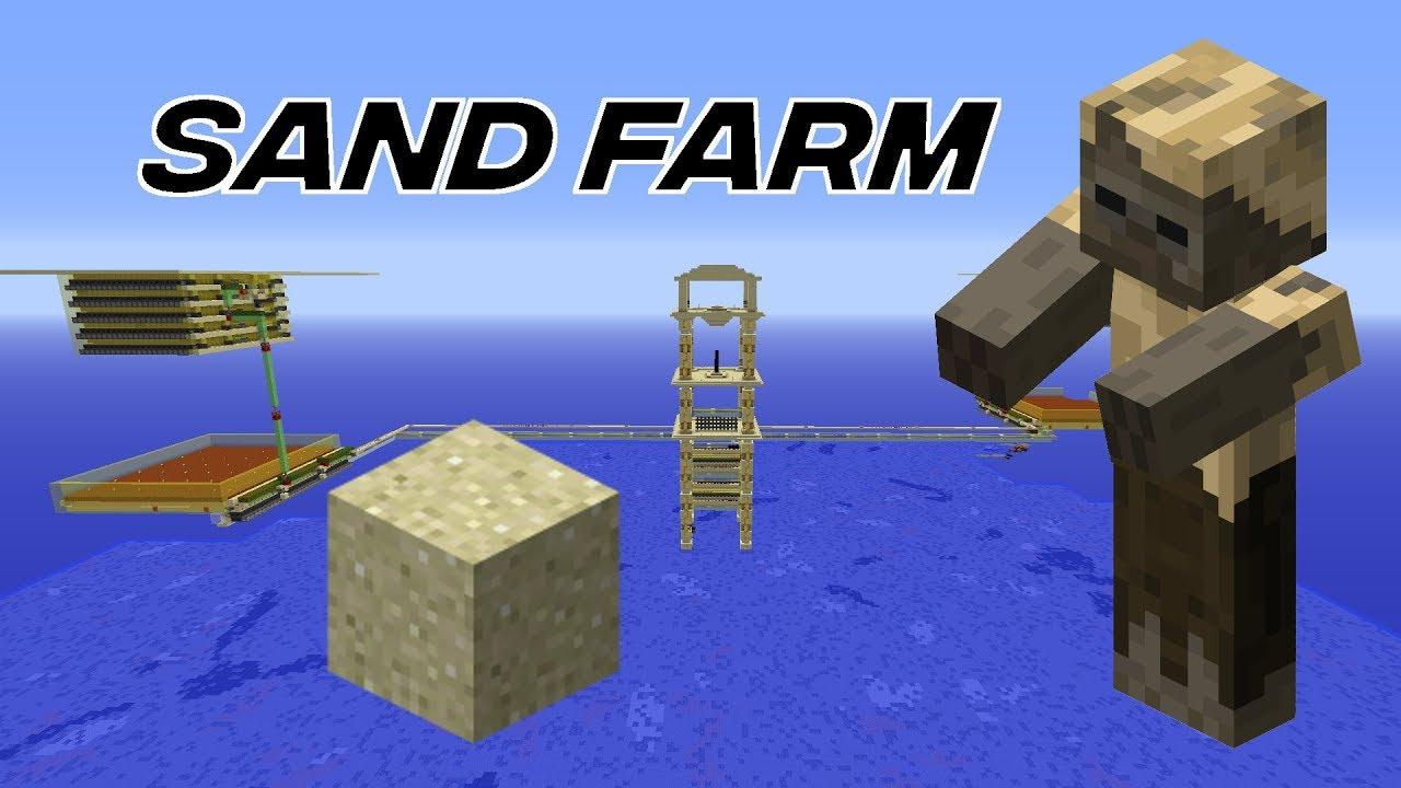 Husk Based Sand Farm (Carpet Mod)