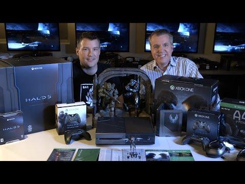 Майор Нельсон и Джош Холмс распаковали на видео коллекционные издания Halo 5 и стилизованную версию консоли Xbox One