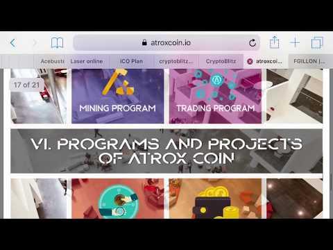 AtroxCoin - Deposit Day 1 - Lending ICO