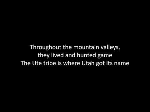 Indian Tribes of Utah Lyrics
