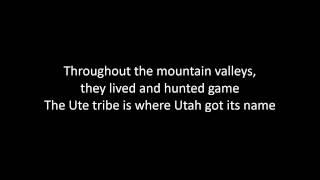 Indian Tribes of Utah Lyrics