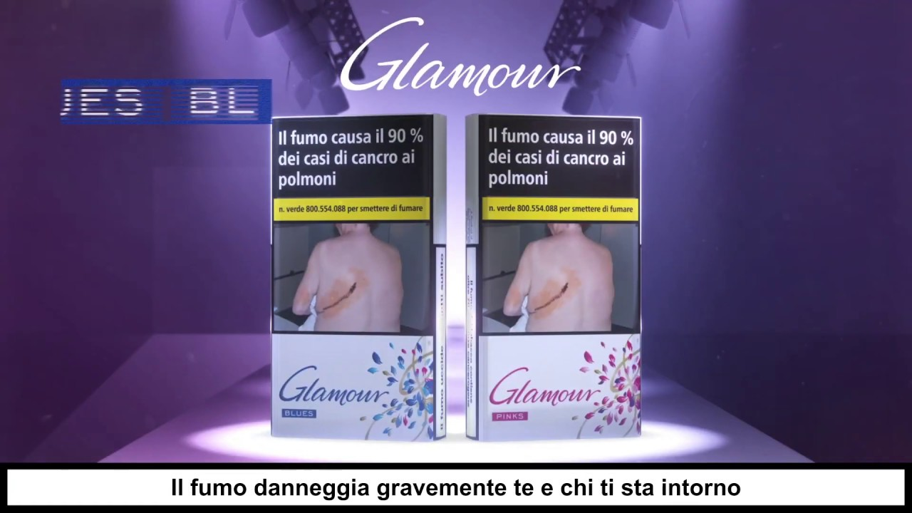 GLAMOUR || PINK BLUE