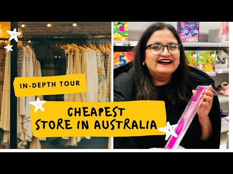 Kmart Store In-depth TOUR | EP- 2| Things  To Buy In Kmart | Cheaper Departmental Store In Australia