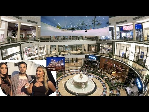 Mall of the Emirates shopping interviews, tour & review