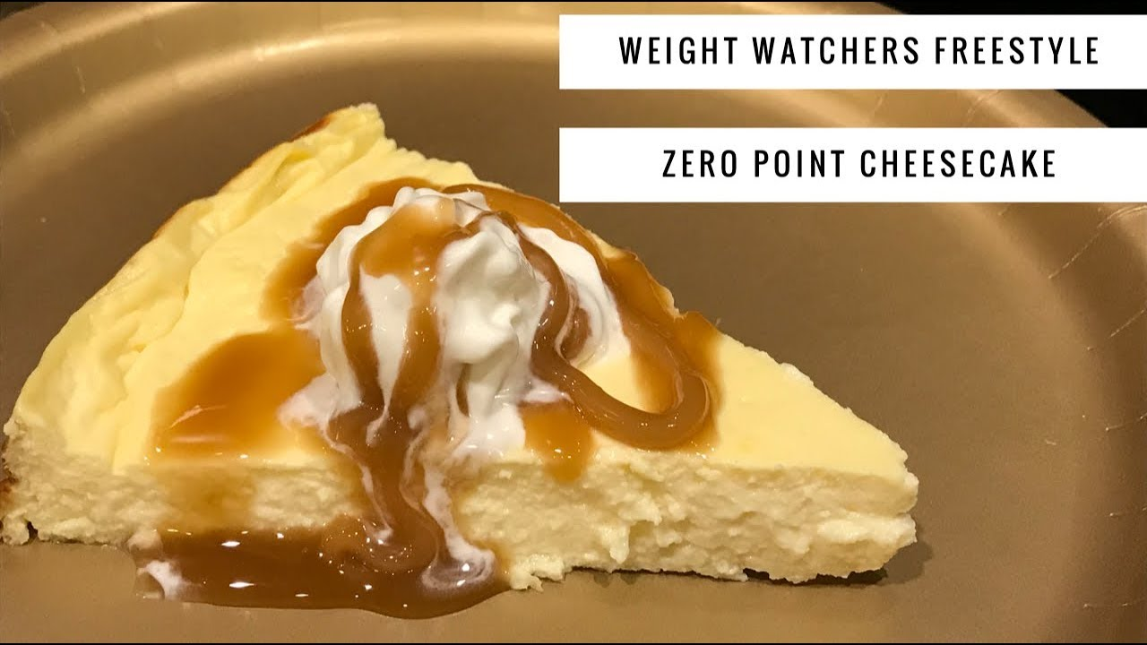 Weight Watchers Freestyle Zero Point Cheesecake by WWPoundDropper