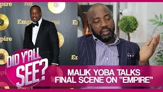"After Show: Malik Yoba Talks Last Scene on ""Empire"""
