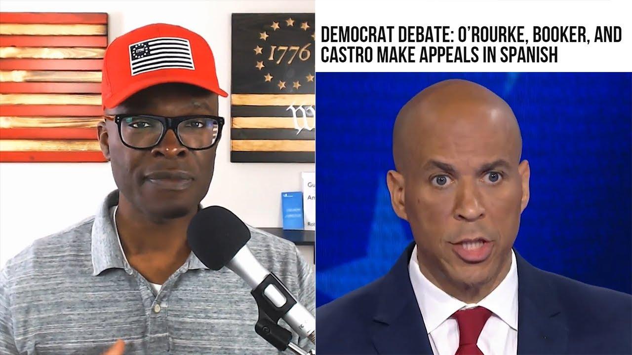 Anthony Brian Logan 2019 Democratic Debate ROUND 1 Recap - No Hablo Inglés!