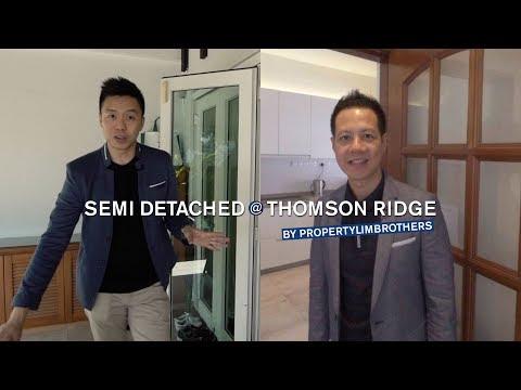 Thomson Ridge, L3199sqft, 2.5 Storey Semi-D, Singapore Landed Property for Sale