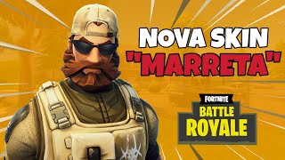 NOUVEAU SKIN de l'AMERICAN SOLDIER MARRETA-Fortnite Battle Royale [PS4]