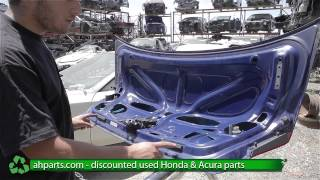 How to replace / change a Trunk 2001 2002 2003 2004 2005 Honda Civic REPLACE DIY