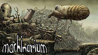 Машинариум  Часть - 1/4  ПРОХОЖДЕНИЕ Machinarium, Игра Квест /Quest [Walkthrough] (БЕЗ КОММЕНТАРИЕВ)