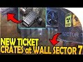 NEW TICKET CRATES at SECTOR 7 WALL + BUNKER RAID EVAC - Last Day On Earth Survival 1.7.12 Update