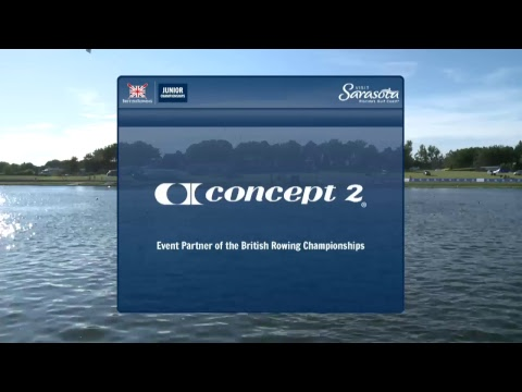 British Rowing Junior Championships Sunday, 16 July 2017