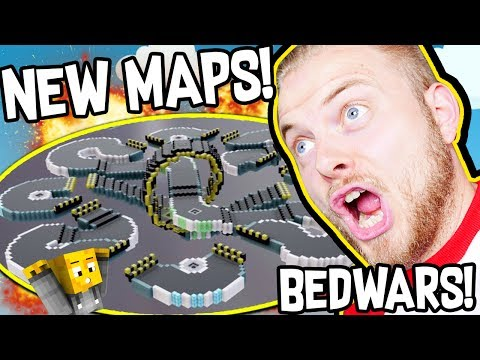 CRAZY NEW BEDWARS MAPS!! W/AshDubh