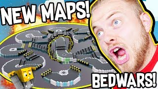 CRAZY NEW BEDWARS MAPS!! W/AshDubh