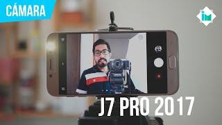 Samsung Galaxy J7 Pro 2017 - Review de cámara