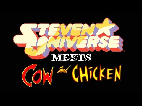 Steven Universe Meets Cow and Chicken 1 - Horrorween Special