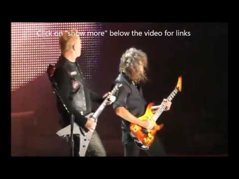 Metallica May 12 2017 live in Philadelphia day 2 video released - Rings of Saturn tease new  album