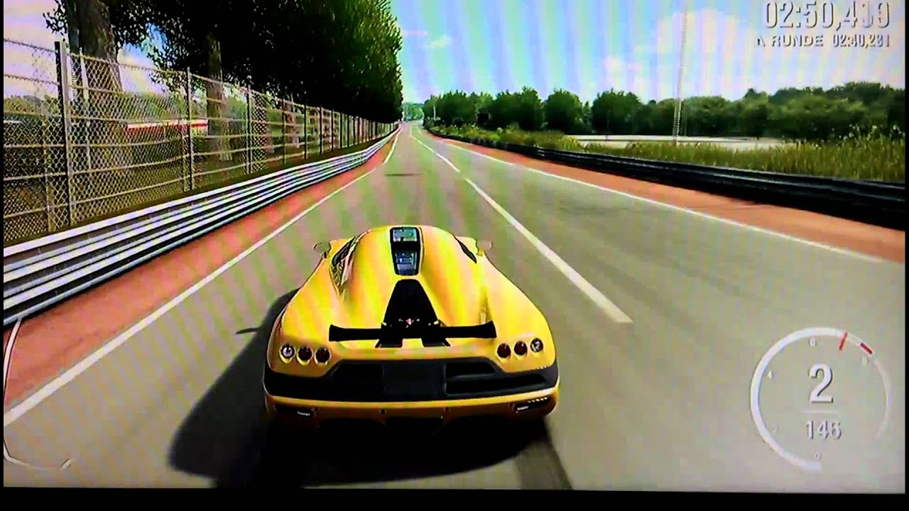 Forza Motorsport 4 - Koenigsegg CCX top speed - YouTube