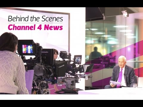 RTS Behind the Scenes: Channel 4 News