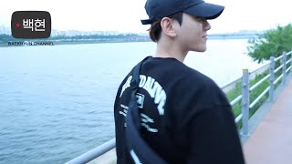 Baekhyun's VLOG (half-face shooting contents/love-light friend/Han River/whoosh/whoosh)