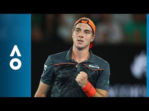 CPA Shot of the Day: Jan-Lennard Struff outwits Federer | Australian Open 2018