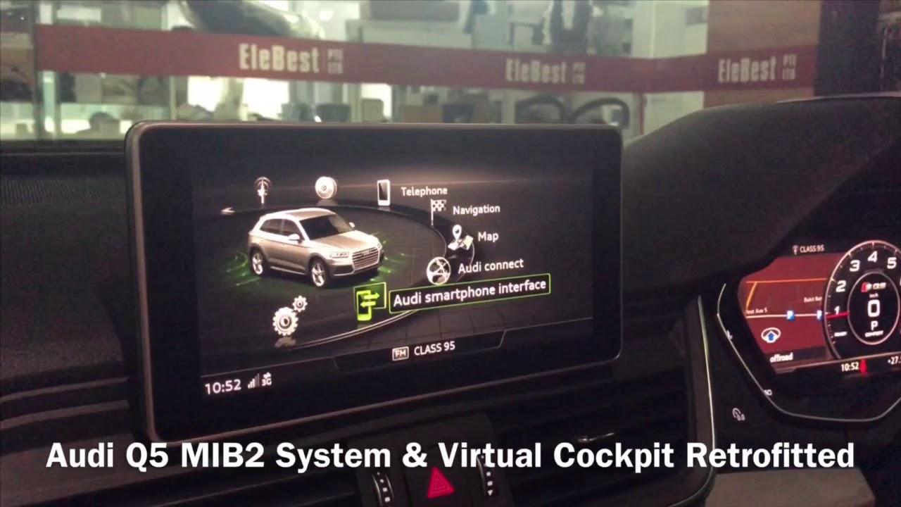 Audi Q5 MIB2 System & Virtual Cockpit Retrofitted