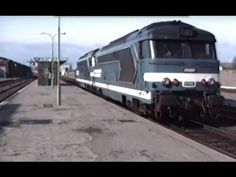 En cabine du 67599 de Calais à Abbeville le 18 mars 1989