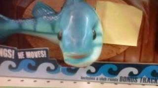 Mcdonalds Talking Fish Wall Plaque