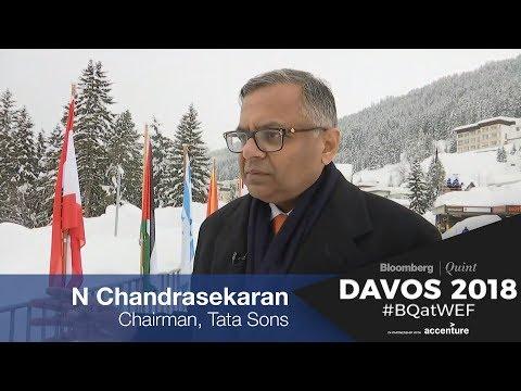 WEF 2018: In Conversation With N Chandrasekaran