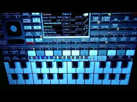 """""""Город золотой"""" на планшете - виртуальный  синтезатор для Android-телефона"""