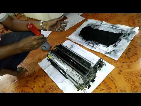 How to Remove Drum Unit and Clean the  Blade || Canon Xerox 5000-6000