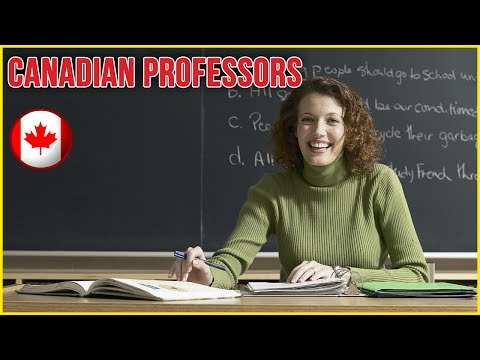 Canadian Professors