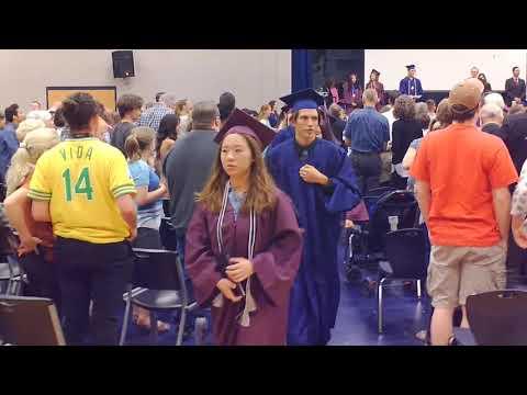 Springville Merit College Preparatory Academy Graduation, May 25, 2017
