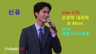 신유 - (신곡) 오르락 내리락 & More (양평 산수유 한우 축제 초대공연 2019년 4월7일) (2160p60 4K)
