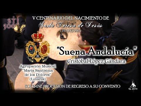 """(A.M. Dolores) """"Suena Andalucía"""" Traslado """"Santa Teresa"""" Linares 2015-by Savio"""