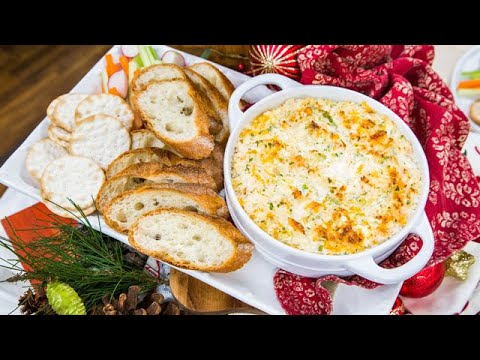 The Ultimate Crab & Shrimp Dip - Home & Family