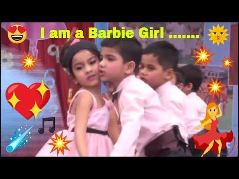 Barbie Girl Dance ǁ I am a Barbie Girl ǁ School Kids dance