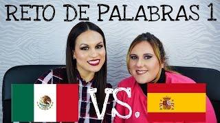 Palabras mexicanas vs españolas | Parte 1 | Ande Asiul