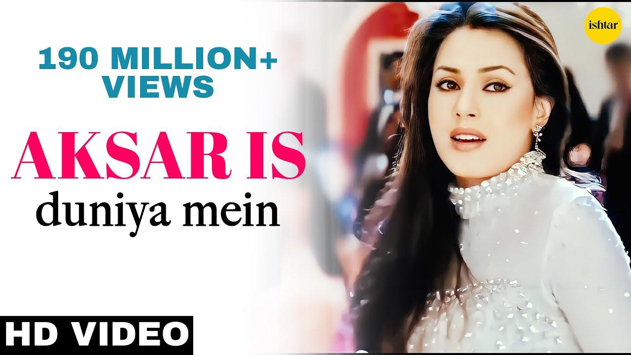 Aksar Is Duniya Mein Hd Video Song Suniel Shetty
