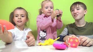РЕЖЕМ ИГРУШКИ-АНТИСТРЕСС // Что внутри игрушек?