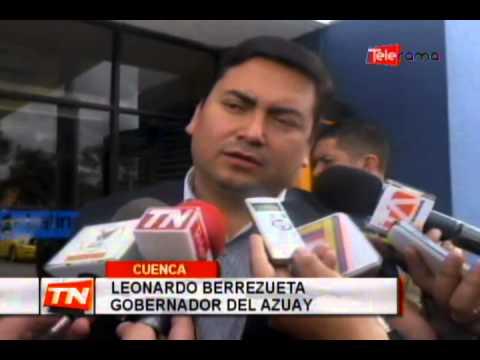 Gobernador del Azuay rechaza violencia generada en protestas