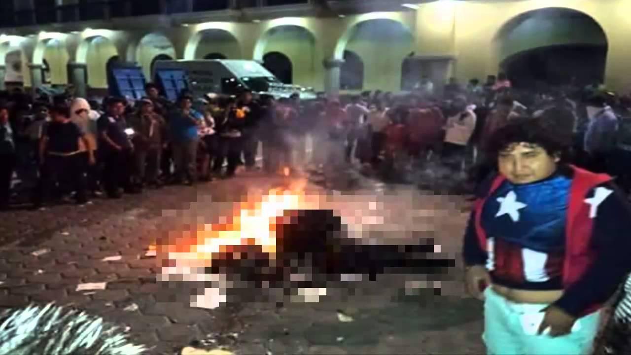 Habitantes linchan a dos encuestadores en Ajalpan, Puebla