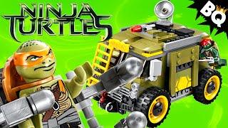 Lego Ninja Turtles Turtle Van Takedown 79115 Tmnt Build & Review