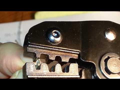 SN-28B Crimping tutorial for DuPont pins.