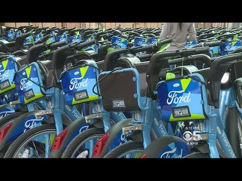 Bike Rental Businesses Collide In San Francisco