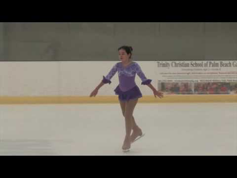 Aliza Billet Palm Beach Ice Works Basic Skills 2016