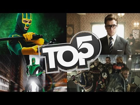 TOP 5 MOVIES LIKE | Deadpool - Kick-Ass - Kingsman HD