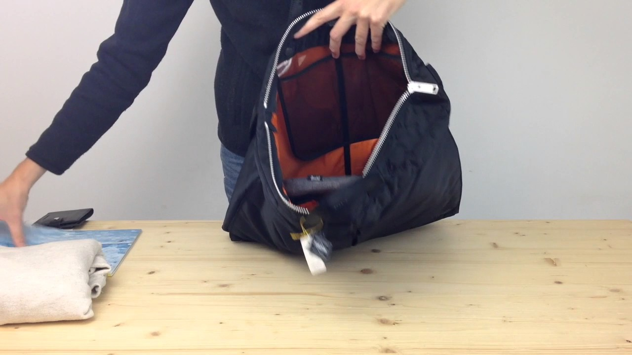 Porter Yoshida Tanker 2 Way Helmet Bag - YouTube d6b7ede980